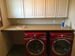 how to install countertop over washer and dryer prelights best