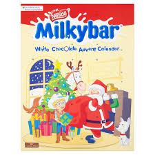 Review of Nestle Milkybar White Chocolate Advent Calendar