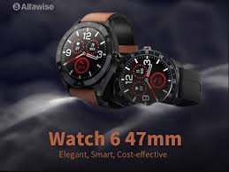 [Coupon] <b>Alfawise Watch 6</b>: <b>47mm</b> Smart Watch For Just $29.99