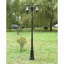 Solar Powered Lamp Post Fresh Solar Powered 3 Head Solar Lamp Post