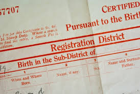 The History Of Birth Certificates In England And Wales