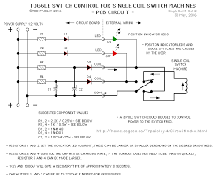 single coil switch machine driver single coil switch machine driver circuit notes