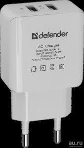 <b>Сетевой адаптер</b> USB <b>Defender</b> EPA-12 универсальное ...