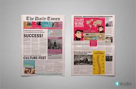 Newspaper Front Template 8 Sample Newspaper Layouts In Design Pdf