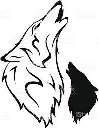 オオカミ イラストの画像検索結果 モンスター班2019 オオカミ