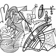Small Picture Abstract Coloring Pages Download
