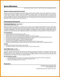 Cover Letter For Medical Sales Representative Inside Device Resume