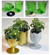 Decoration With Plastic Bottles 60 DIY vases reusing everyday items 60 plastic bottles Things I 35