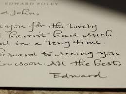 Worlds best handwriting