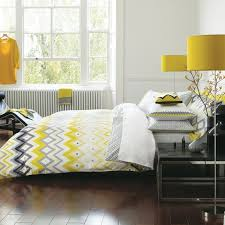 bedeck bedding and curtains favored ilration altuza bed linen yellow grey contemporary sets at home