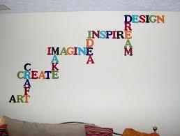 wall decor on