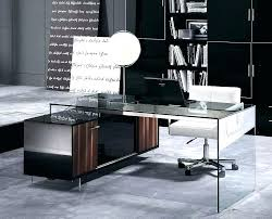 home office contemporary glass office. Contemporary Desks For Office Home Desk Style Small Glass