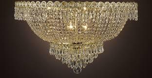cjd ck flush cg 2176 20 french empire crystal flush chandelier
