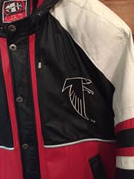 falcon s nfl team member all leather jacket w leather hood 1925637402