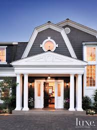 Dutch Colonial Front Door - Luxe Interiors + Design