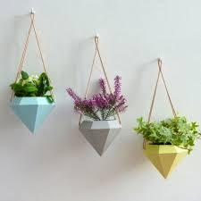 Posh Totty Designs Interiors hanging shaped planter, Notonthehighstreet.com