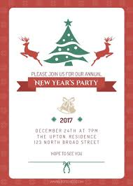 invitation party templates new year party invitation template template fotojet