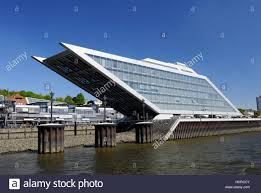 image country office. Germany, Hamburg, Altona, Dock Country, Office Building, House, Glass Construction, Architecture, Moulder, Modern, Tour Image Country N