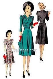 1940s Dress Patterns Stunning 48 Dress D4848 EvaDress Patterns
