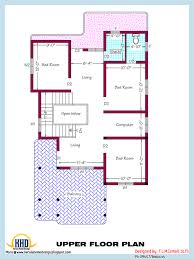 upper floor plan of 2318 sq ft house may 2016