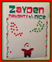 Naughty Or Nice Christmas Behavior Chart Behavior Chart