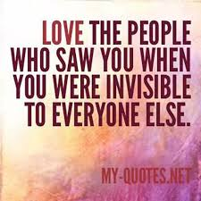 People Quotes Simple Love The People Who Saw You When MyQuotesNET