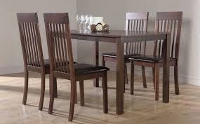 lovable dining room chairs wood beautiful wood dining room chairs set with leather padded seat for