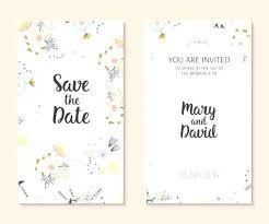 design templates for invitations cute wedding card free vector invitation design template simple