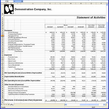 Excel Financial Statement Solana Providerpro Microsoft Excel Financial Statements