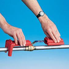 ball valve lockout. b-safe® ball valve lockout l