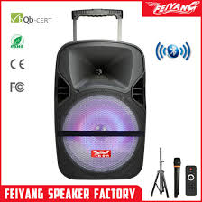 chinese factory outdoor party 12 inch speaker portable mini wireless bluetooth speaker f87