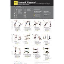 Trx Chart Trx Exercise Chart Advanced Strength