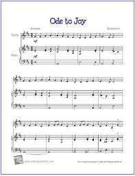 Ifh 24 first pub lication. Ode To Joy Beethoven Free Beginner Violin Sheet Music