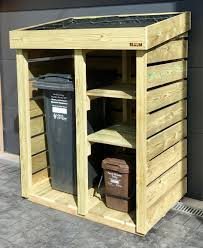 recycling bin storage. Plain Bin A Bluum Bin Store Handmade To House A Wheelie Bin Two Recycling Boxes  And Food Caddy For Customer In Bristol Plants Be Added Intended Recycling Storage H