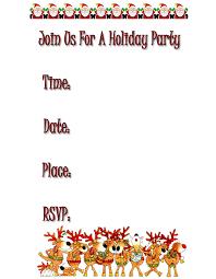 dinner invitations templates free printable holiday party invitation templates free download them or