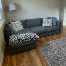 ikea vimle 3 seat corner sofa with