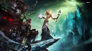 hd wallpaper warcraft gamers animated