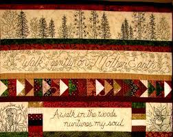 Woodland Walk in Earth Tones Quilt Pattern 12 Hand & ð???zoom Adamdwight.com