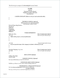 Resume Document Template | Acridmc.us