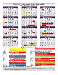 2019 20 District School Year Epcusd 401 Calendars