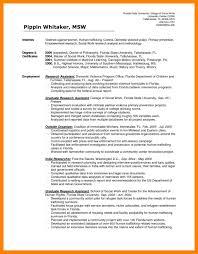 9 Social Worker Resume Sample Job Apply Form
