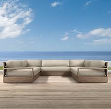 marbella furniture collection. marbella collection weathered grey teak outdoor furniture cg restoration hardware