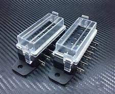 mini fuse block 2pc 6 way dc32v 12v circuit blade fuse box block fuse holder mini atc ato