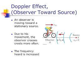 6 doppler effect observer toward