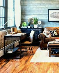 love home office space. A Small Home Office Space Into This Rustic Boho Style Living Room Look You Ll Love