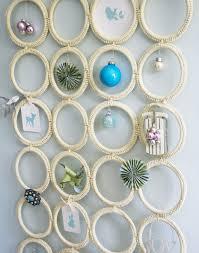 DIY Christmas Charm Holder From IKEA Scarf Hanger