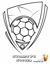 Small Picture Striking Australia Soccer Sports Coloring FIFA Free Striker