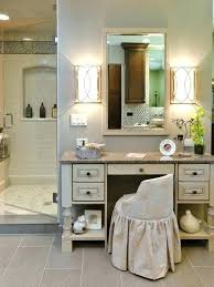 vanity dressing table with mirror mirror vanity table makeup table white leather bench on grey rug