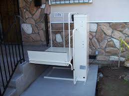 Porch Lifts The Alternative To Ramps Pacific Mobility Center - Exterior wheelchair lifts