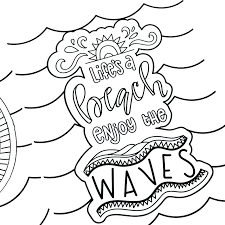 summer fun coloring pages – madred.co